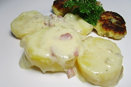 Bechamel - Kartoffeln 6