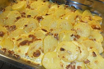 Bechamel - Kartoffeln 10