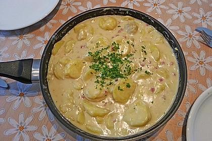 Bechamel - Kartoffeln 2