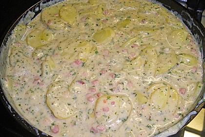 Bechamel - Kartoffeln 7