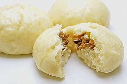 Chinesische gefüllte Brötchen mit Hühnerfleisch