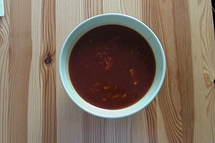 Schnelle Hühnchensuppe (Bild)