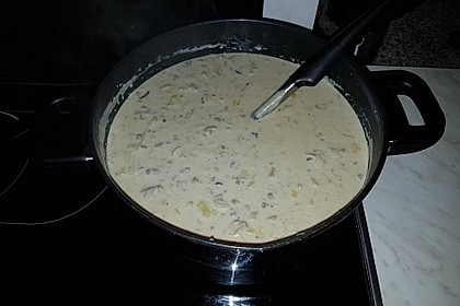Käse - Lauch - Suppe