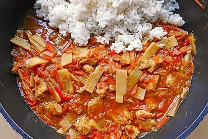 Puten - Chop Suey mit Nudeln 1