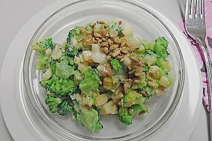 Winter - Brokkoli - Salat 1