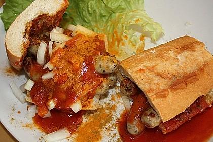 Curry - Wurst Spezial