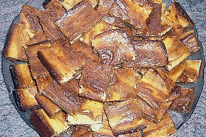 Käsekuchen - Brownies (Bild)