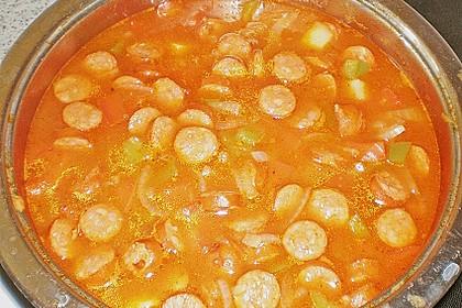 Feurige Kartoffelsuppe 4