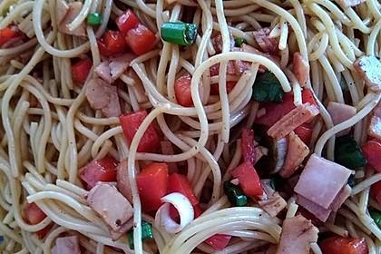 Spaghetti - Salat 1