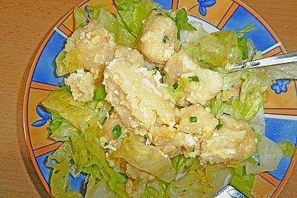 Eiernockerl mit Salat - Omas Rezept 5