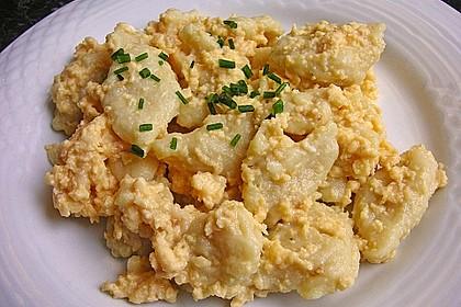 Eiernockerl mit Salat - Omas Rezept 2