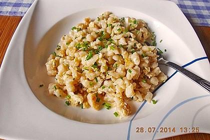 Eiernockerl mit Salat - Omas Rezept 4