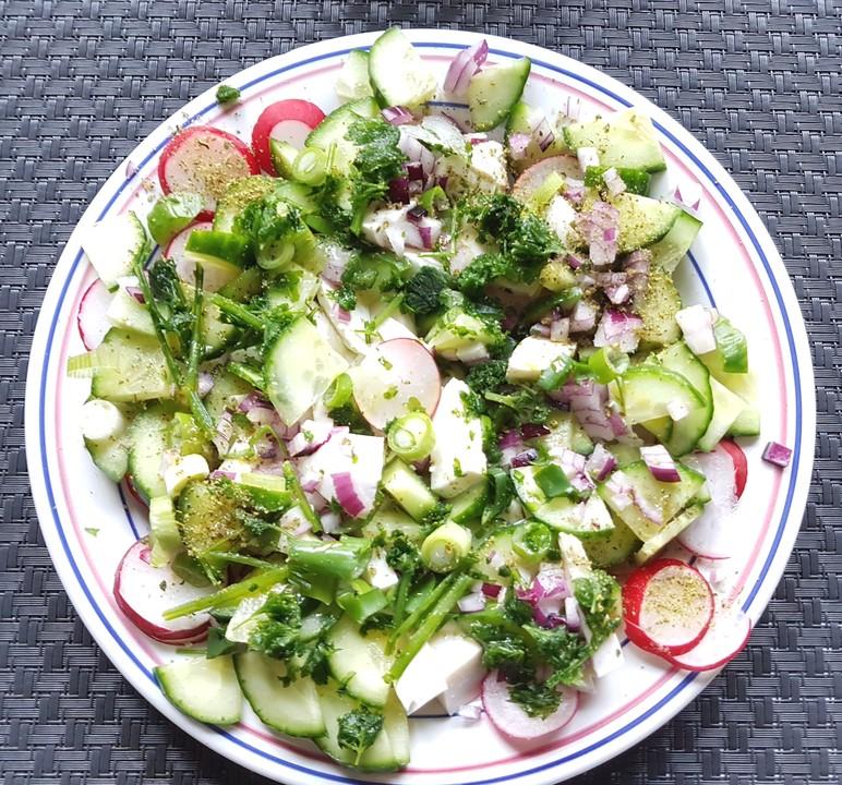 Bunter Salat Von Woodlousy Chefkoch