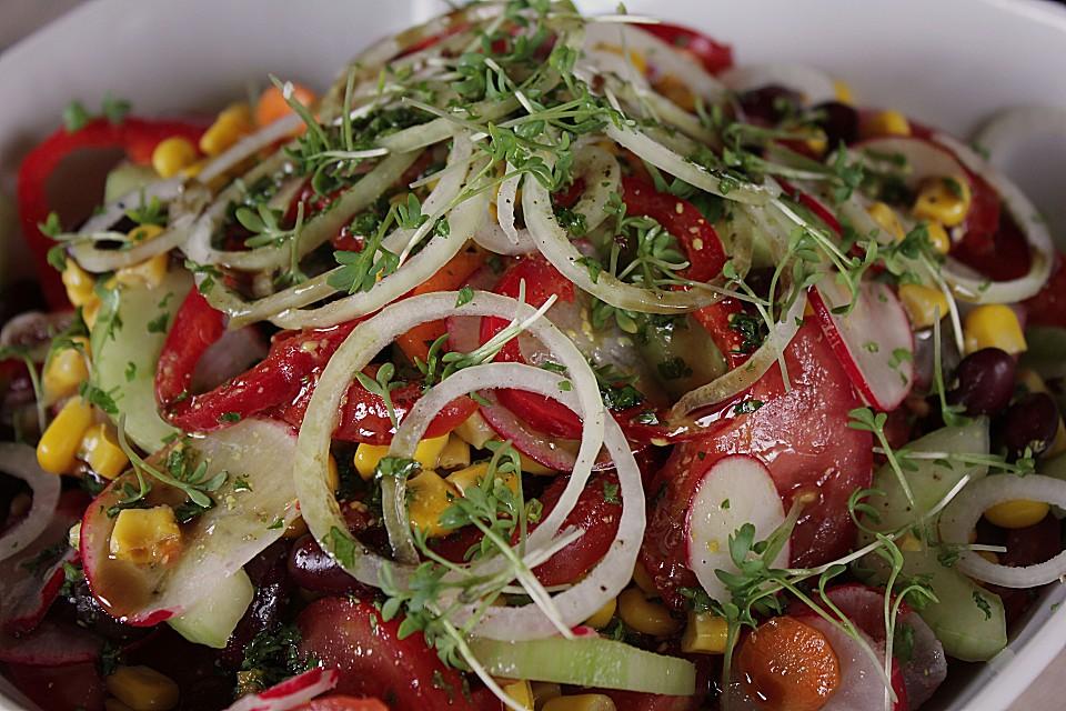 Bunter Salat Von Woodlousy Chefkochde