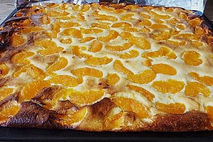 Quark Mandarinen Kuchen