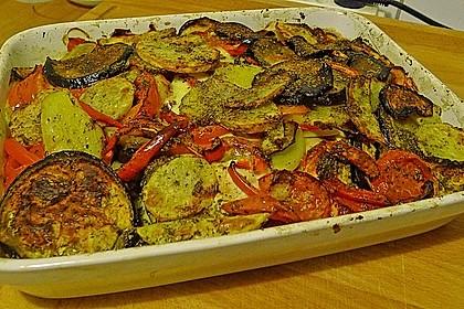 Italienischer Gemüseauflauf (Bild)