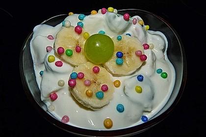 Quarkspeise mit Früchten 2