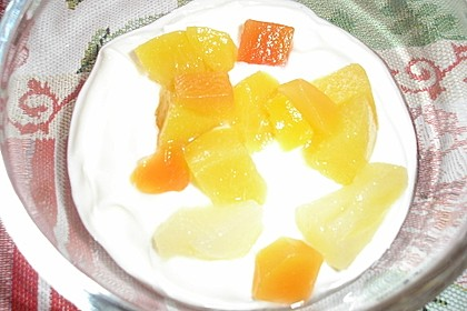 Quarkspeise mit Früchten 9