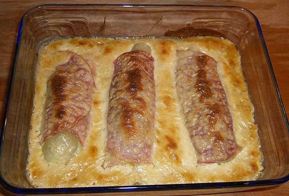 Chicoree Auflauf Mit Kochschinken Und Parmesan Von Paan3 Chefkochde