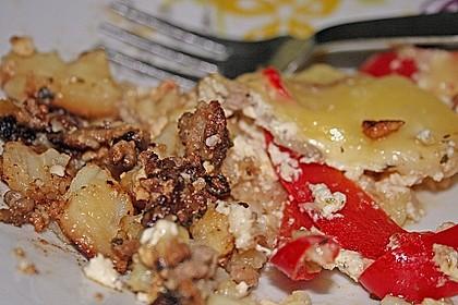 Kartoffel - Paprika - Pfanne mit Hackfleisch 12