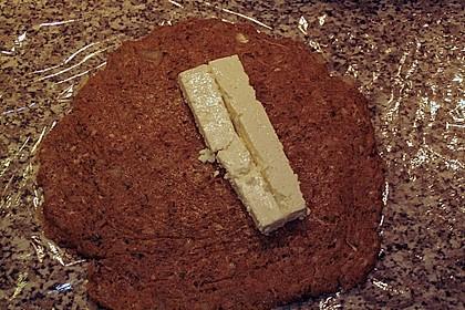 Beefsteaks mit Schafskäse 38