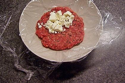 Beefsteaks mit Schafskäse 23