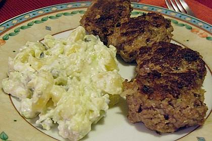 Beefsteaks mit Schafskäse 52