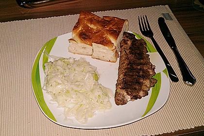 Beefsteaks mit Schafskäse 39