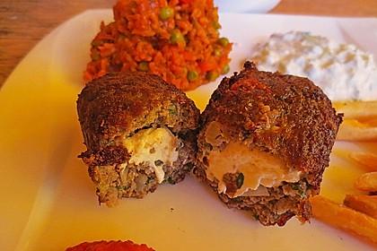 Beefsteaks mit Schafskäse 16