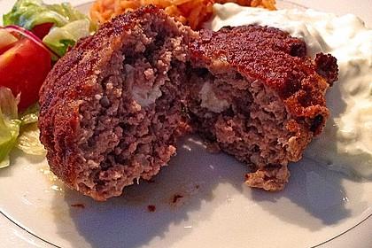 Beefsteaks mit Schafskäse 12