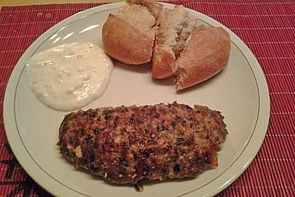 Beefsteaks mit Schafskäse 48