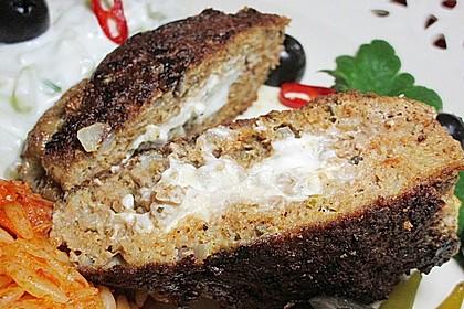 Beefsteaks mit Schafskäse 20