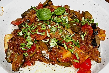 Zucchini - Pfanne