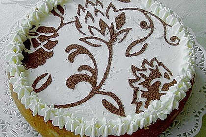 Bina's Apfel - Weißwein - Torte