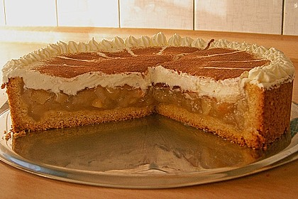 Bina's Apfel - Weißwein - Torte 3