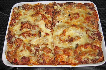 Leichte Lasagne Bologneser Art 5