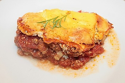 Leichte Lasagne Bologneser Art 6