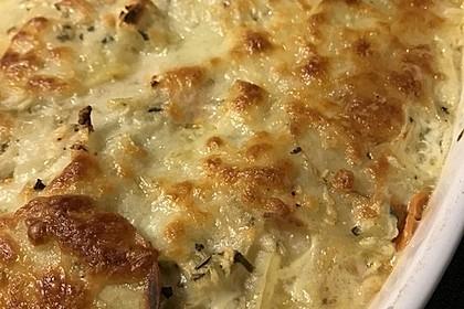 Kartoffel - Möhren - Gratin (Bild)