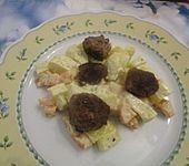 Kohlrabi - Möhren - Gemüse mit Hackfleischbällchen (Bild)