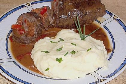Budapester Rinderroulade mit Sauerkrautfüllung