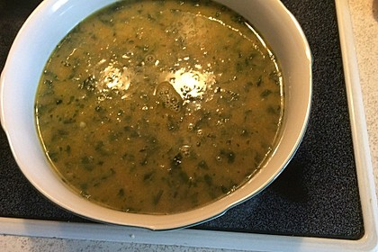 Kokos - Möhren - Spinat - Suppe 9