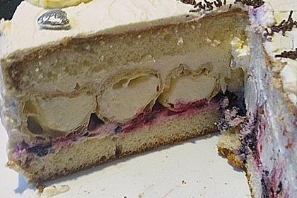 Windbeutel-Torte 129