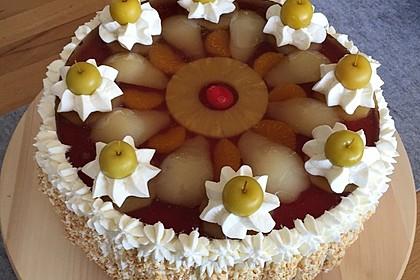 Große Beute Analcreme Kuchen