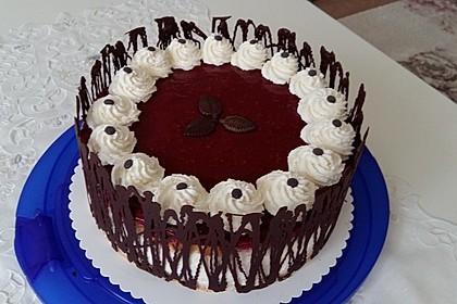Windbeutel-Torte 1