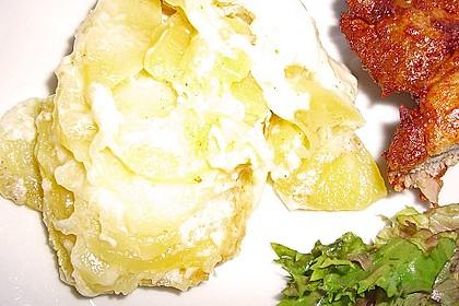 Schnelles Kartoffelgratin in der Mikrowelle 9
