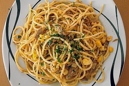 Spaghetti in Sahnesoße á la Steffi 1