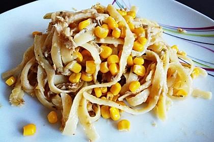 Spaghetti in Sahnesoße á la Steffi 2