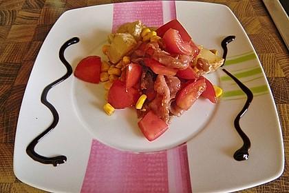Harzerkäse - Tomatensalat