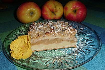 Apfelkuchen mit Streuseln 1