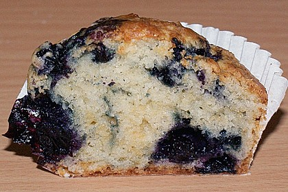 Mile high Blueberry Muffins 126
